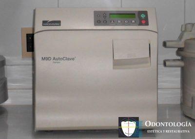Autoclave, sistema de esterilización
